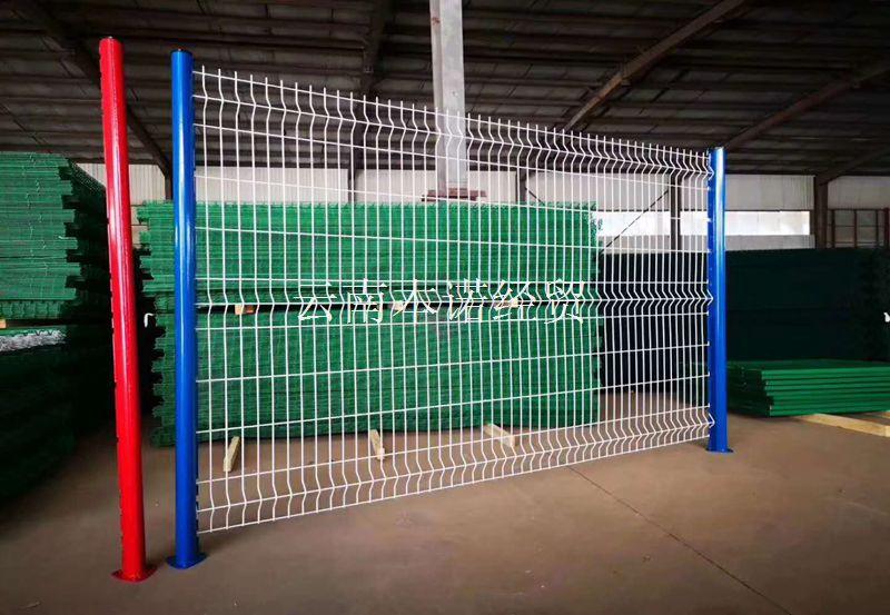 桃型柱護欄網產品展示