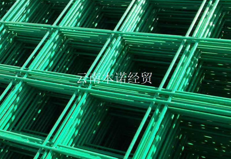 金屬焊接網片之浸塑網片