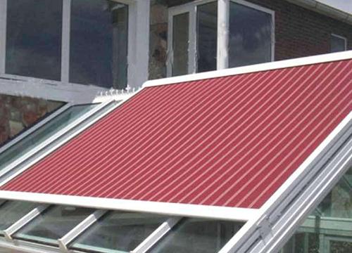 玻璃顶电动遮阳帘