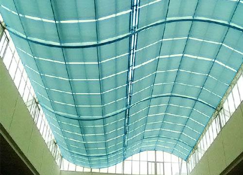 FSS卷轴式遮阳天棚帘