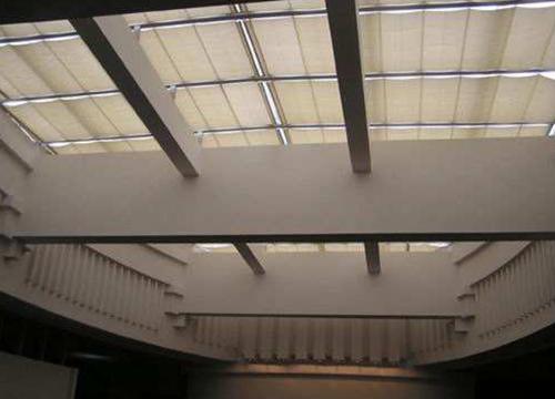 云南FCS折叠式天棚帘安装案例