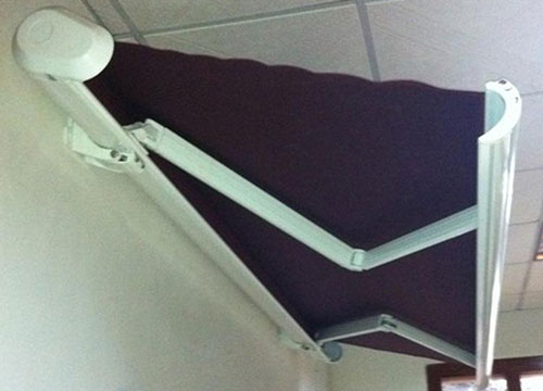 云南重型曲臂遮阳蓬设计安装