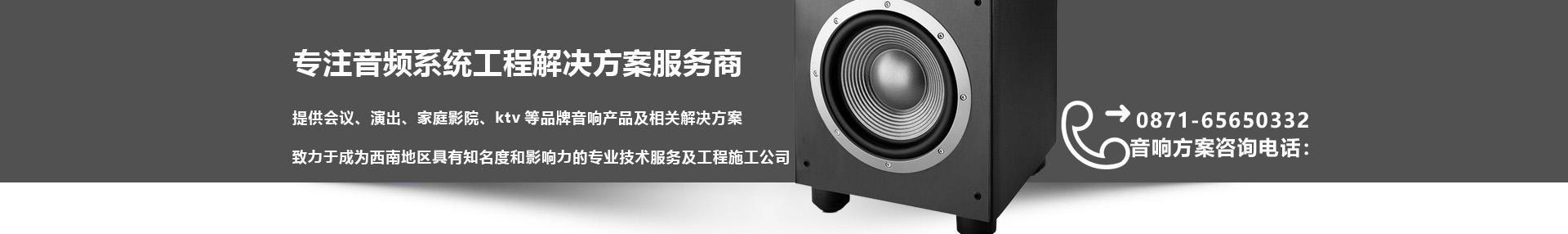 音频系统工程解决方案服务商