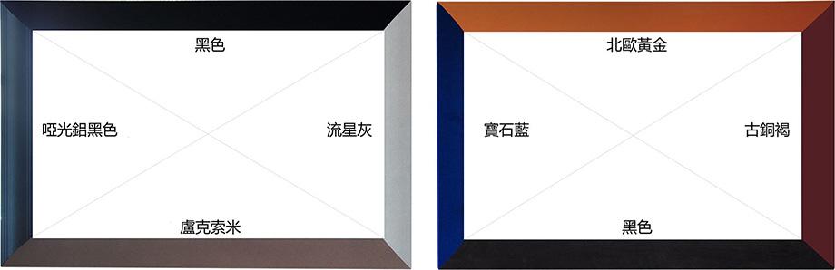 N4-FL/CW1纳米软幕弧形画框幕