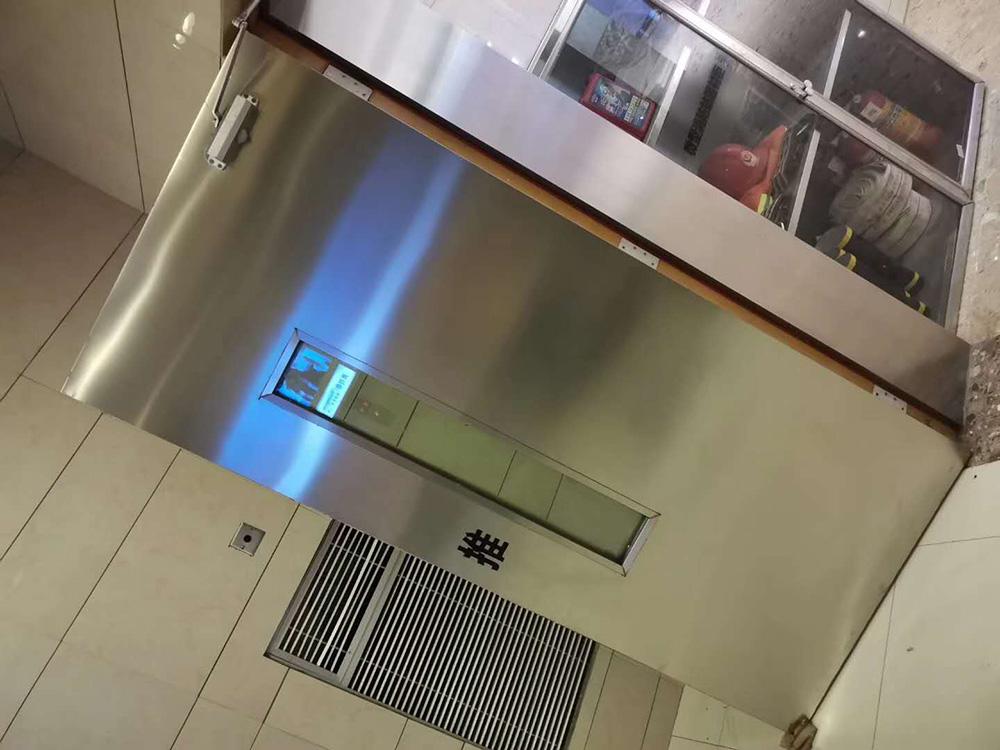 同德广场不锈钢门套安装施工案例