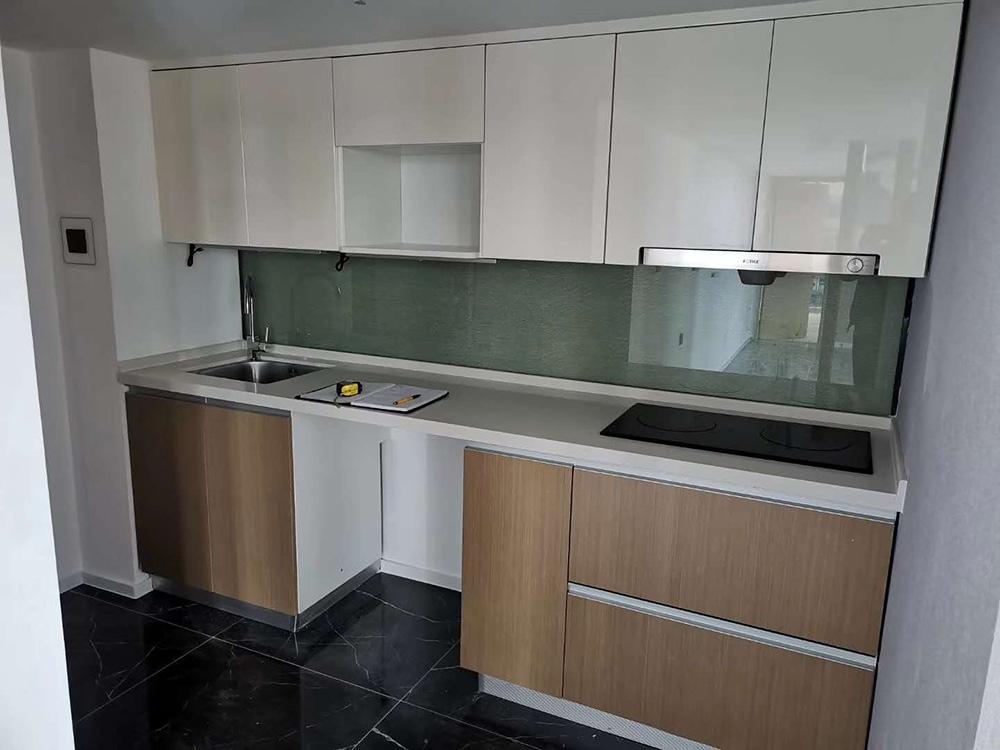 新迎新城公寓玻璃施工案例