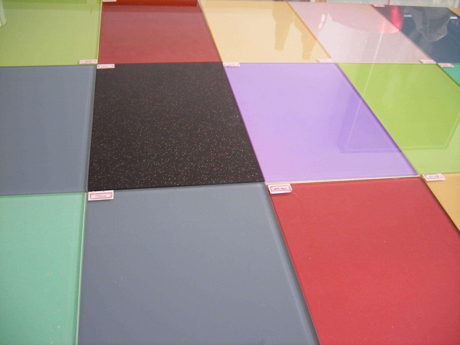 喷漆/烤漆玻璃产品主要性能