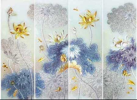 云南玻璃厂家讲解晶莹剔透与色彩灵动的艺术玻璃