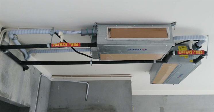 滇池高尔夫玉龙湾(别墅)中央空调安装案例