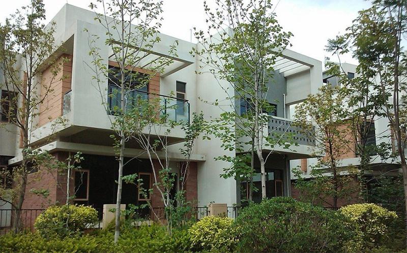滇池卫城鹿港(别墅)4室2厅3卫中央空调安装案例