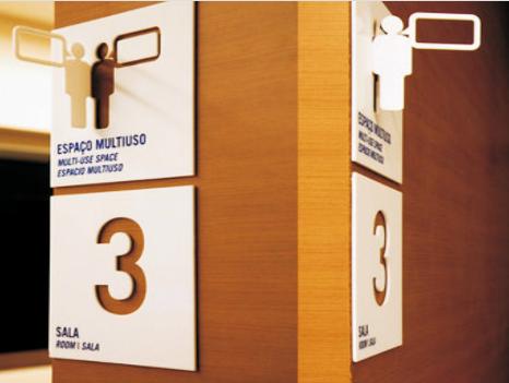 酒店樓層指示牌