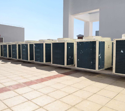 恒温恒湿空调机组安装案例