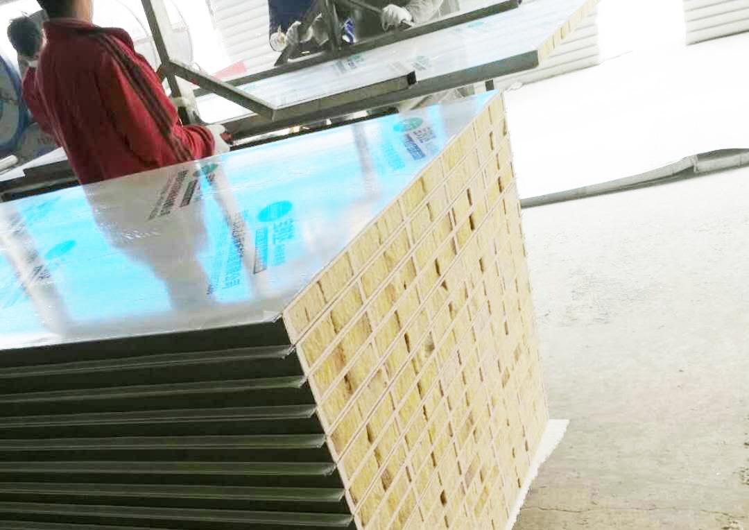 云南岩棉净化板