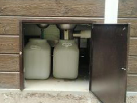 直落式生态卫生间