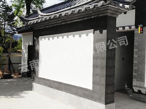 丽江中济海公园采用免水冲小便器