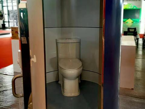 泡洗式节水型生态卫生间——座便式