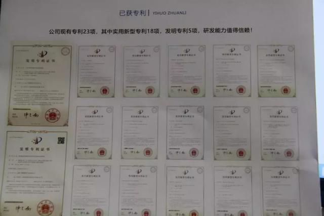 云南八卫科技有限公司专利技术
