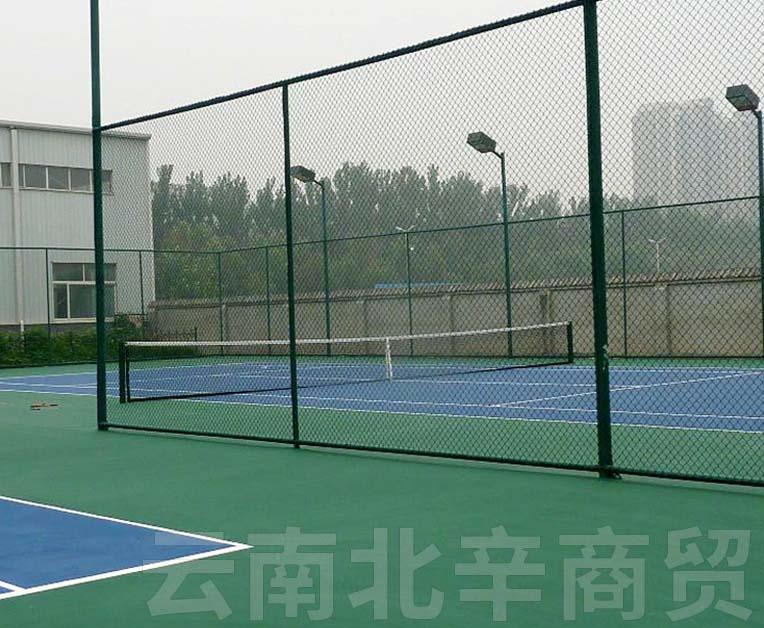 体育场护栏网施工安装