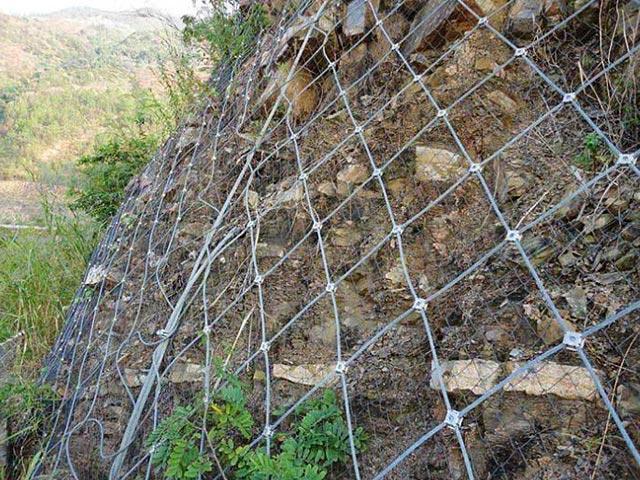 丽江边坡落石防护网