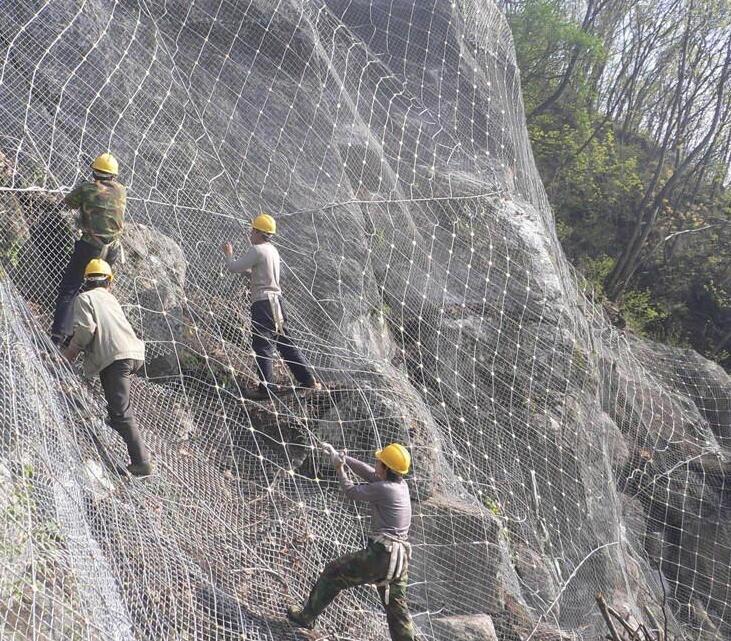 【主动边坡防护网】主动边坡防护网知多少