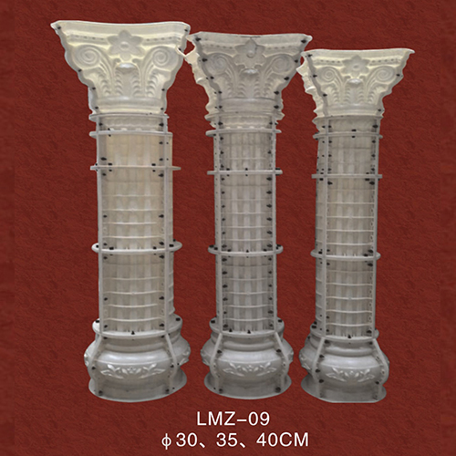 云南罗马柱模具美观不佳是什么造成的呢