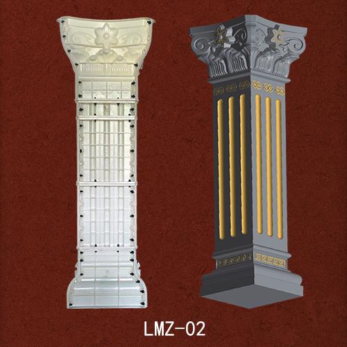 生产罗马柱模具每一个环节做到精准把控