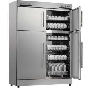 大型厨房不锈钢消毒柜