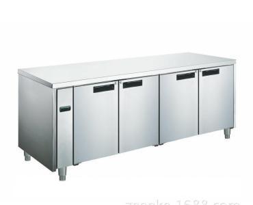 多功能储藏式不锈钢销售卖台