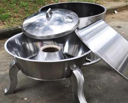 可拆分烤鸭炉