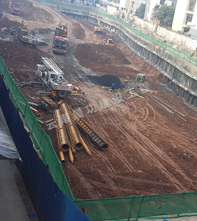 西雙版納基坑施工