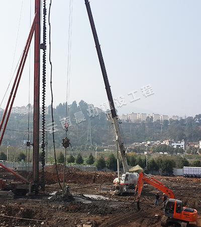 长螺旋钻孔压灌混凝土桩适用什么建筑桩基础?丽江长螺旋施工队施工需注意哪些问题