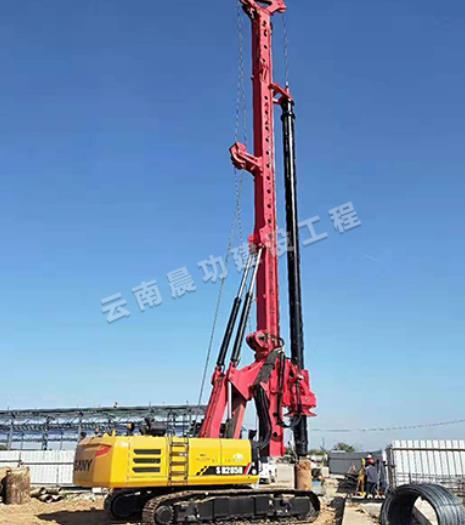 旋挖钻机不能正常使用,搞不清楚原因,估计要大修!