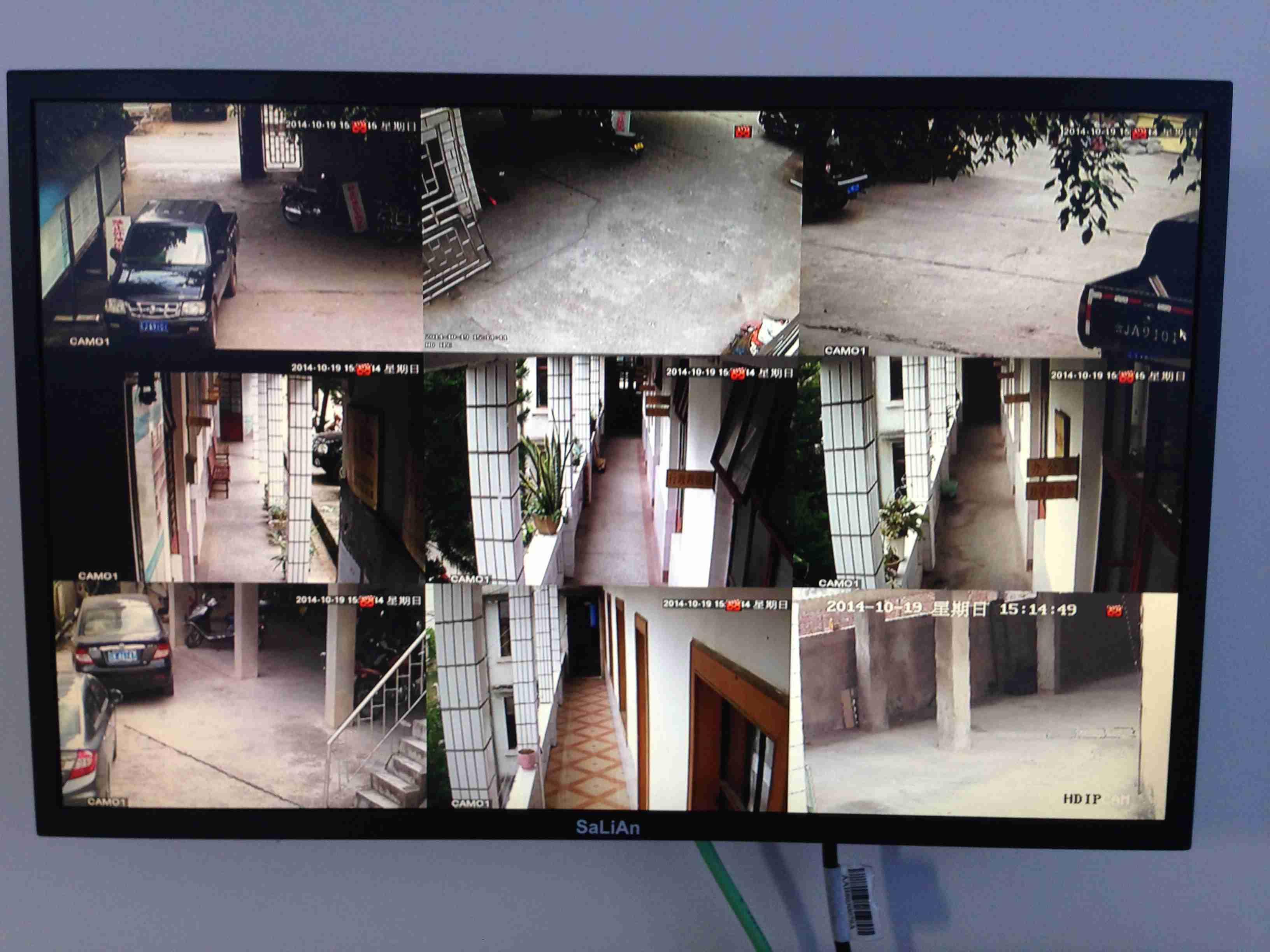 江城县财政局安防监控报警系统施工