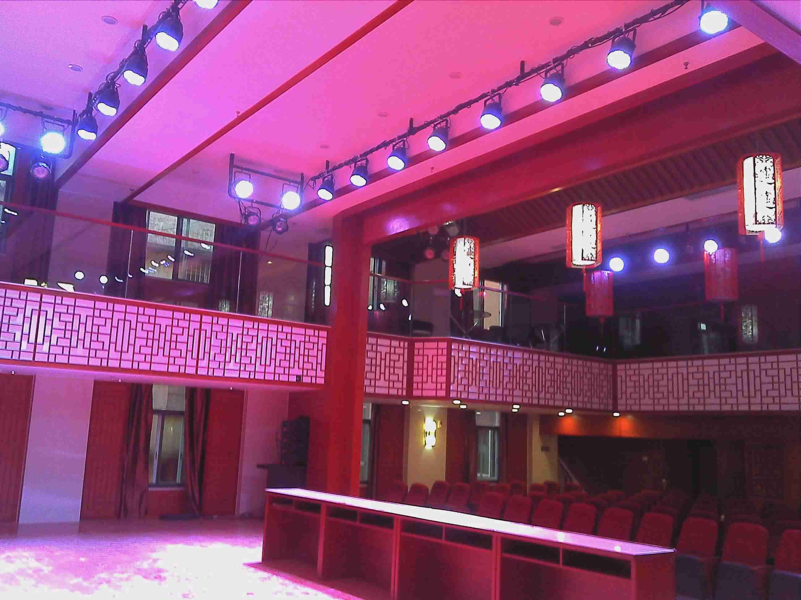 京剧院www.3522.vip.com灯光音响安装调试现场