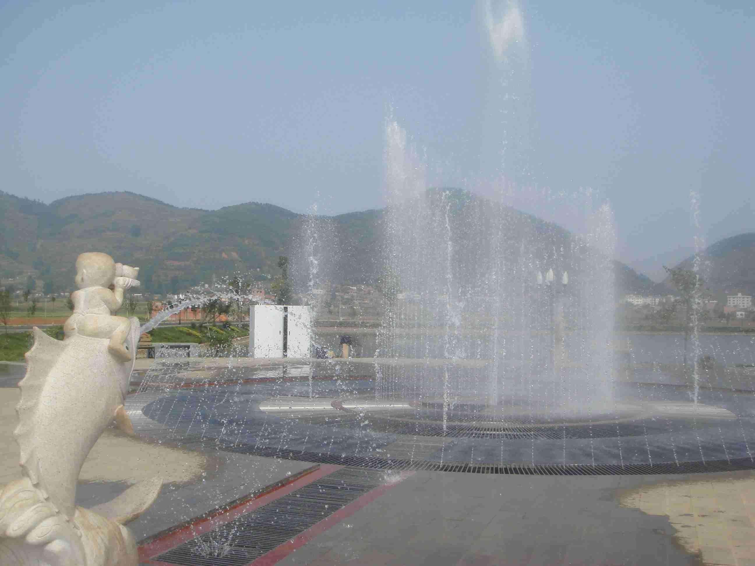 鲁甸音乐喷泉