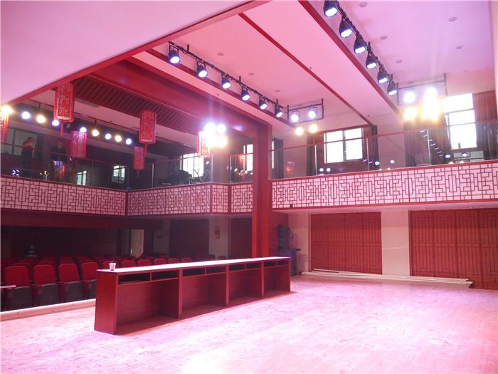 云南京剧院音响舞台灯光弱电工程