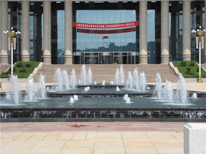 昆明海埂会堂音乐喷泉系统