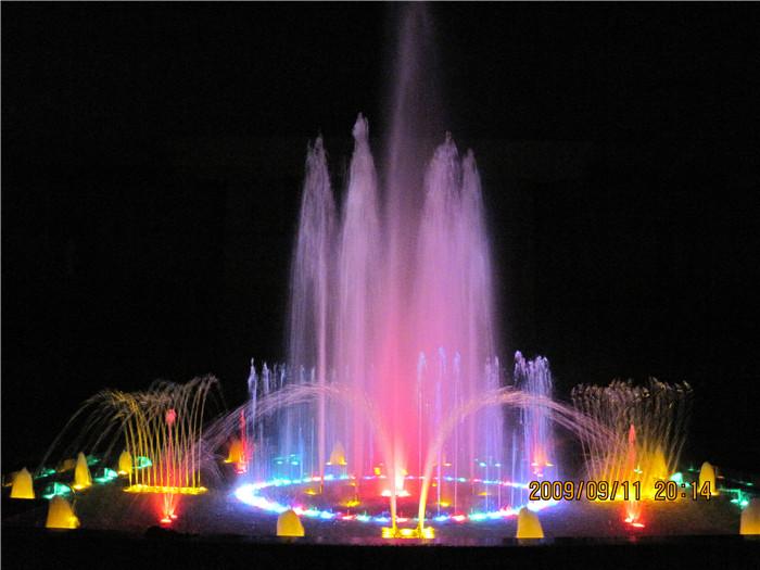公共场合音乐喷泉