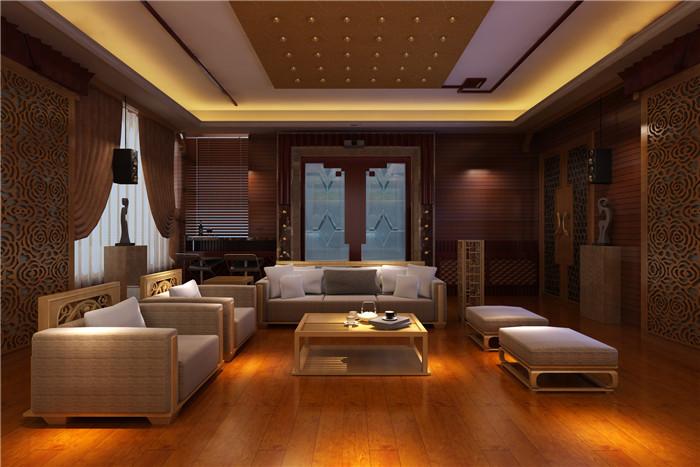 大廳智能家居燈光系統