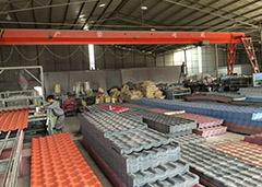 树脂瓦工厂环境