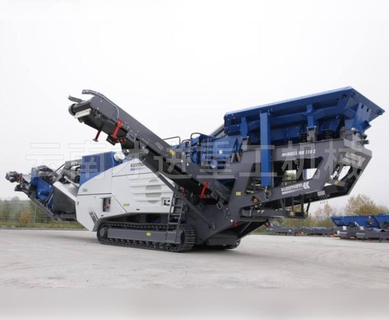 大型移动破碎机械设备
