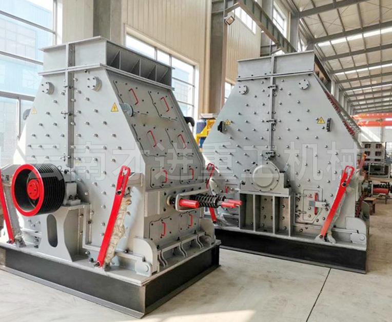 反击式制砂机生产