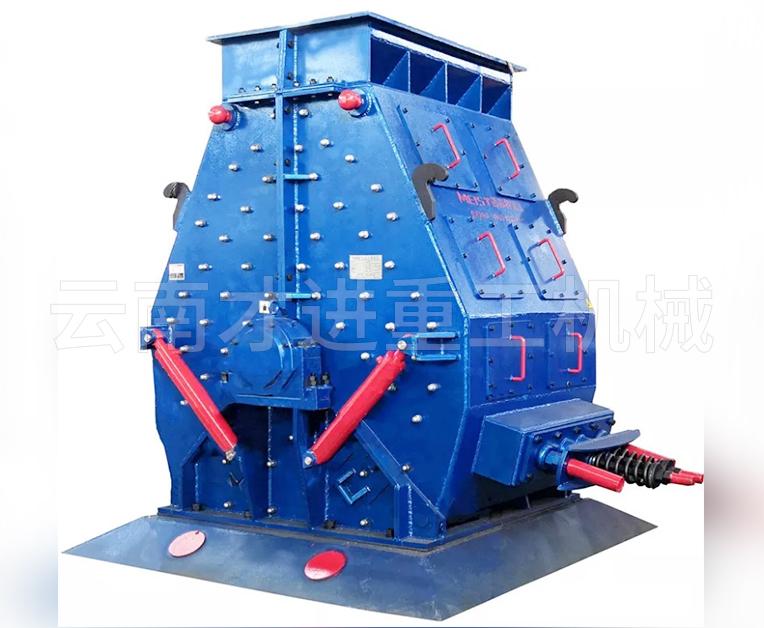 新型版锤石制砂机