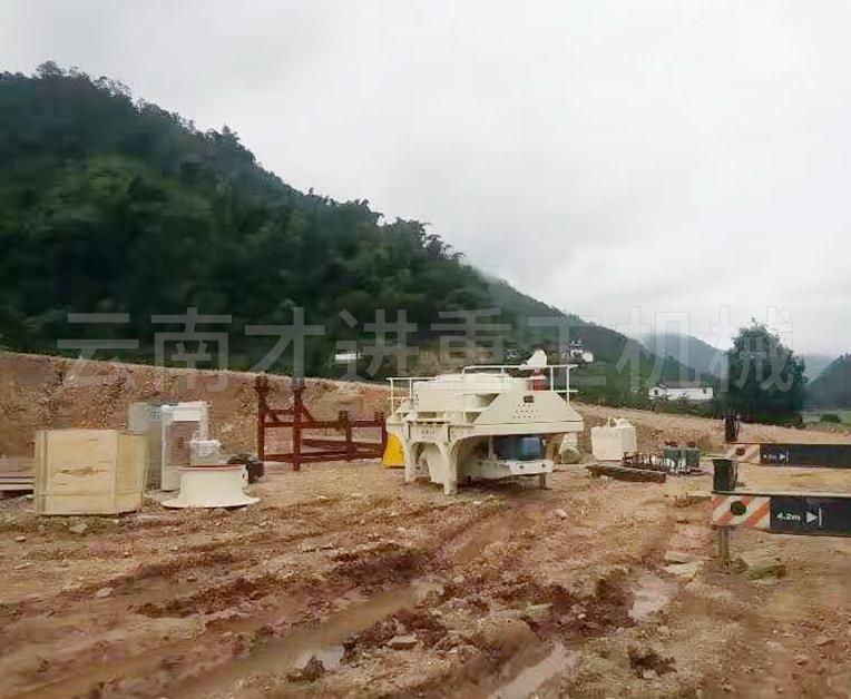 云南普洱市生产线现场