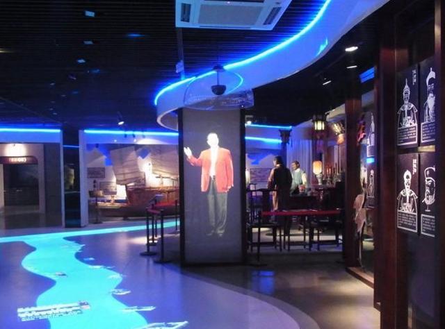 云南多媒体展厅