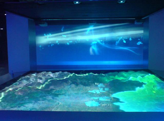 互动投影沙盘和传统的沙盘模型有什么区别