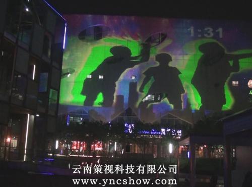 3D楼体秀-科学城商业广场