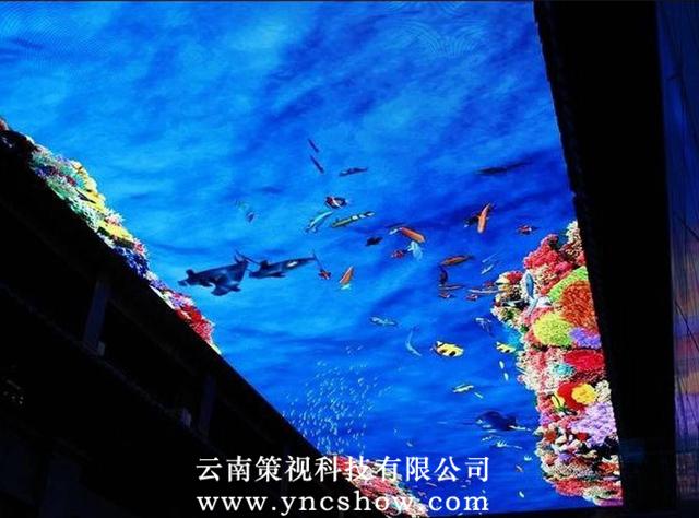 天幕投影系统