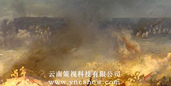 云南半景画制作
