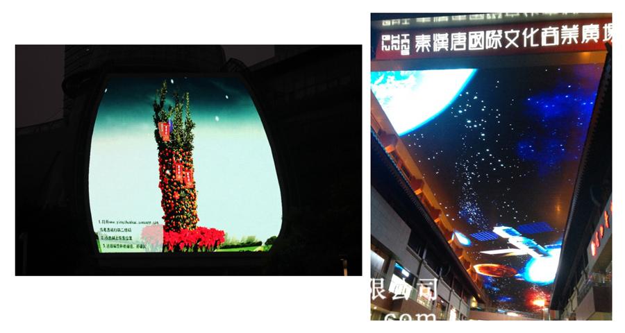 天幕投影系统组成